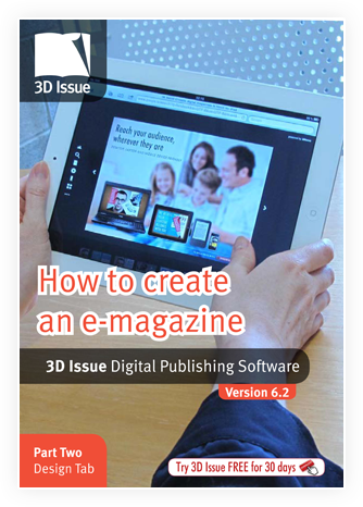3D Issue user guide design tab