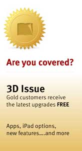 Gold cover 3dissue
