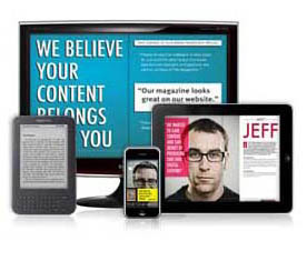 online digital magazine on any device