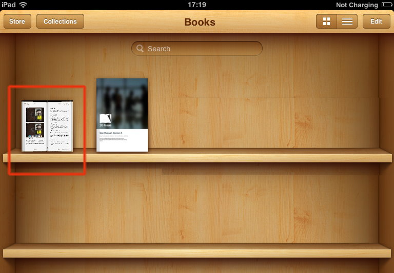 rss to ibooks