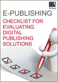 E-Publishing | Checklist for evaluating digital publishing solutions